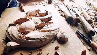 Wood carving is a wonderful relaxation