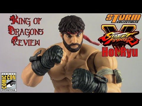 Storm Collectibles: SDCC 2017 Exclusive - Street Fighter V: Hot Ryu Review