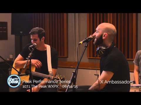 X Ambassadors Peak Performance