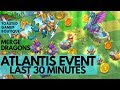 Merge Dragons Atlantis Event • Last 30 Minutes & Doubling Rewards?... ☆ Tips And Tricks Guide ☆☆☆