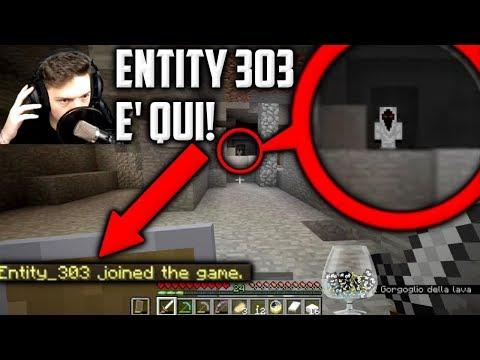 🔴 ENTITY_303 E' NEL MIO MONDO! 🔴 - Minecraft ITA