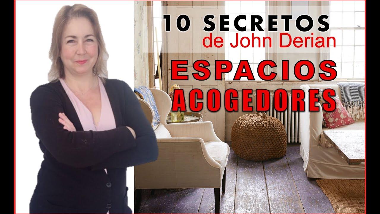 10 SECRETOS para DECORAR espacios ACOGEDORES 😍que JOHN DERIAN sabe 🦆 🦆 y tu No.