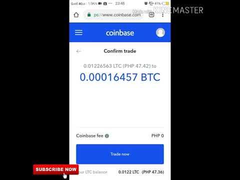 cum să comercializezi bitcoin pentru litecoin coinbase)