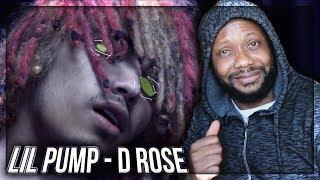 Lil Pump - D Rose (Dir. by @_ColeBennett_) REACTION!!!