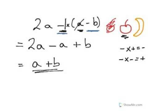 Year 7, 8, 9 Algebra addition and subtraction of x with