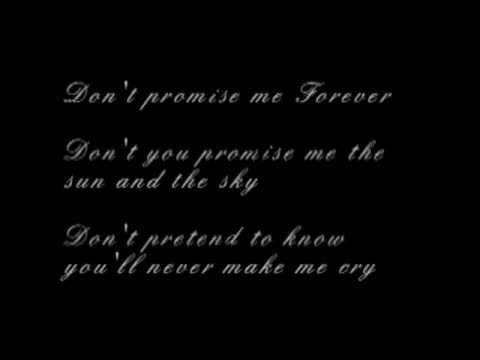 Promise me you'll try with lyrics Jennifer Lopez cover by Allison Delgrosso