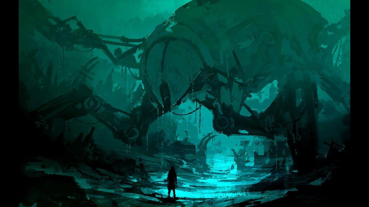 Fantasy Underwater Concept Art