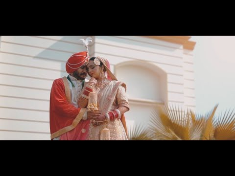 #25 Latest Wedding Highlight | Satinder Singh & Gurpreet Kaur | Short Wedding Film | Singh Studios
