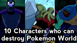10 Ben 10 Chąracters that can destroy Pokemon world. hindi. Toon Clash