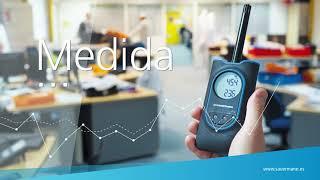 Aplicación móvil de medición Si-HVACR de Sauermann