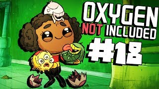 Killing Germs and Creating Natural Gas! - Ep. 18 - Oxygen Not Included Ranching Upgrade Mark II