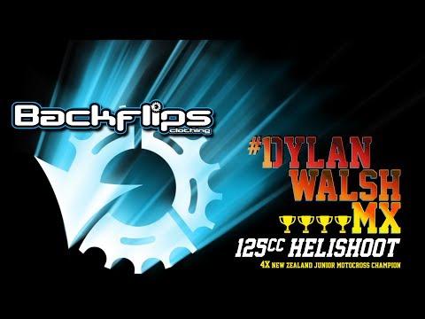 Dylan Walsh 125CC Helishoot  Backflips Clothing