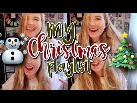 My Christmas Music Playlist 2017 | *Intense LipSyncing Warning* | Courtney Graben