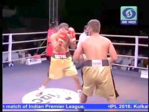 Indian Boxing Council - Our Boxer Ankit Won Bout (Champion Boxing Club, Bhiwani)