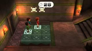 Wii Party U Minigame Showcase - Perilous Pathways (1 vs Rivals)