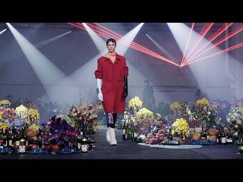 Raf Simons | Fall Winter 2018/2019 Full Fashion Show | Exclusive
