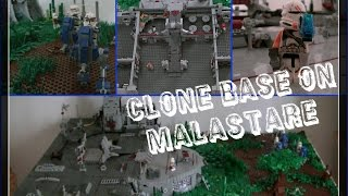 LEGO Star Wars - Epic Clone Base on Malastare (Biggest MOC so far)