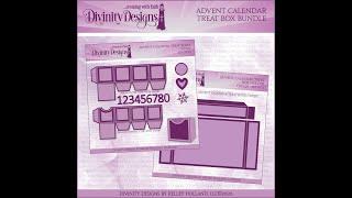 Divinity Designs Advent Calendar Treat Boxes