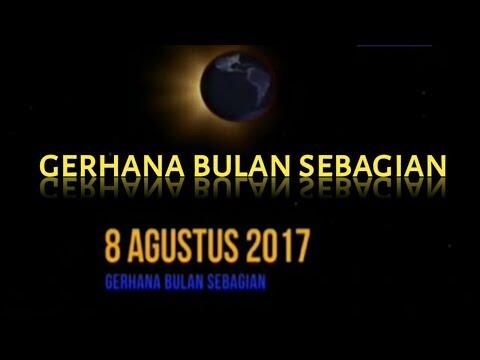 DETIK GERHANA BULAN PADA JAM 01;30 pada tanggal 8 agustus 2017