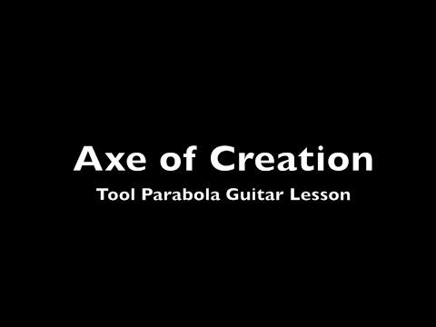tool parabol & parabola guitar lesson