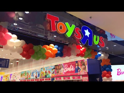 Toys R Us In Dubai Festival City. Awesome Toys