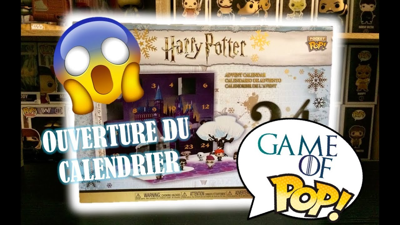 Calendrier De Lavent Harry Potter Funko Pop.Unboxing Calendrier Funko Pop Harry Potter Partie 1 Spoil