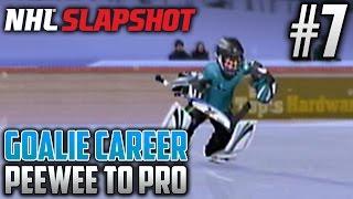 NHL Slapshot (Wii)   Peewee to Pro (Goalie Career)   EP7   LAST BANTAM GAME?