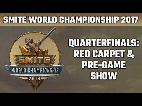 SMITE World Championship 2018: Day 3 Red Carpet & Pre-Game Show
