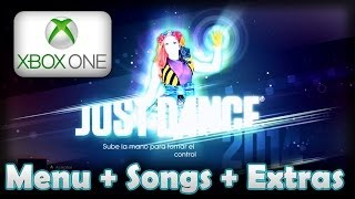 Just Dance 2014 - Xbox ONE | Interactive Menu + All Songs + Extras + World Dancefloor HD