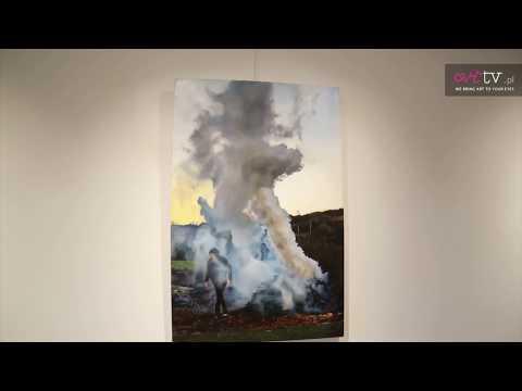 """Karol Palczak, Galeria Promocyjna, spacer z kamerą po wystawie """"Dym"""", #Palczak #galeriapromocyjna"""
