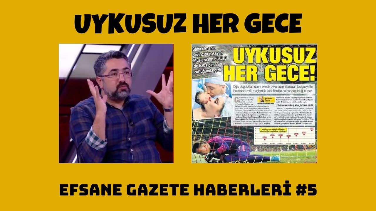 Serdar Ali Çelikler - Uykusuz Her Gece (Efsane Gazete Haberleri #5)