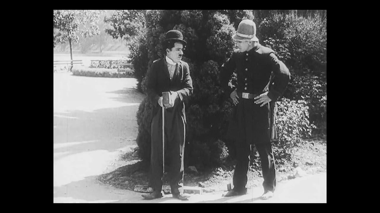 Charlie Chaplin in Recreation (Laurel & Hardy)