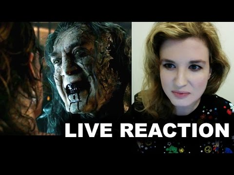Pirates of the Caribbean 5 Teaser Trailer Reaction