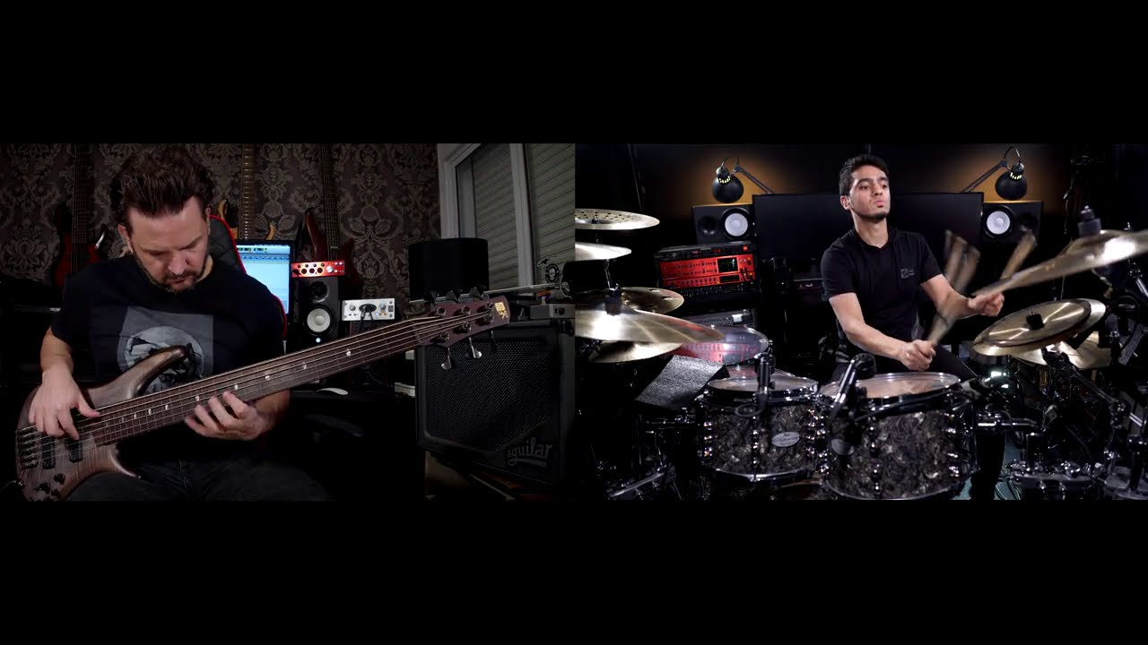 ANGRA - MAKE BELIEVE ft. Felipe Andreoli - Acoustic Version - [DRUMS + BASS ONLY] - *w/o Mix