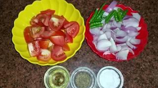 प्याज टमाटर की तड़के वाली चटनी   Onion Tomato Chutney Recipe   Tamatar Pyaz ki Chatni