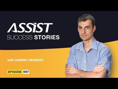 Meet the team - Ep. 7 | Interviu cu Gabriel Tironeac - Head of Game Development | ASSIST Software