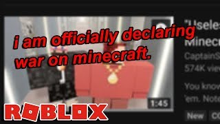 MINECRAFT IS STEALING OUR ROBLOX MEMES!!!
