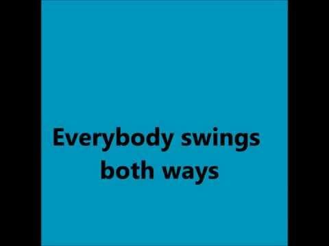 Robbie Williams feat. Rufus Wainwright - Swings Both Ways (lyrics)