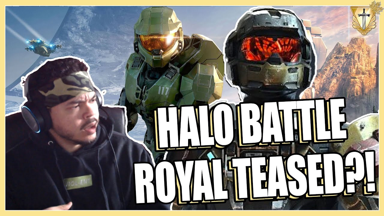 HALO BATTLE ROYALE TEASED 🤯 ?!?! Why a Halo BR is needed ( Halo Infinite )
