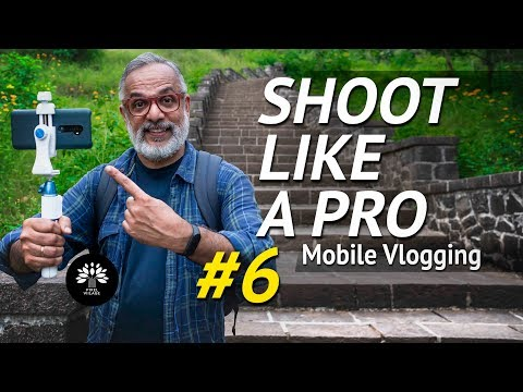 How To Vlog With A Mobile Phone.