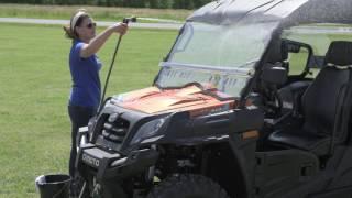 Octane Ridge Lexan Windshields -  Care and Maintenance Video