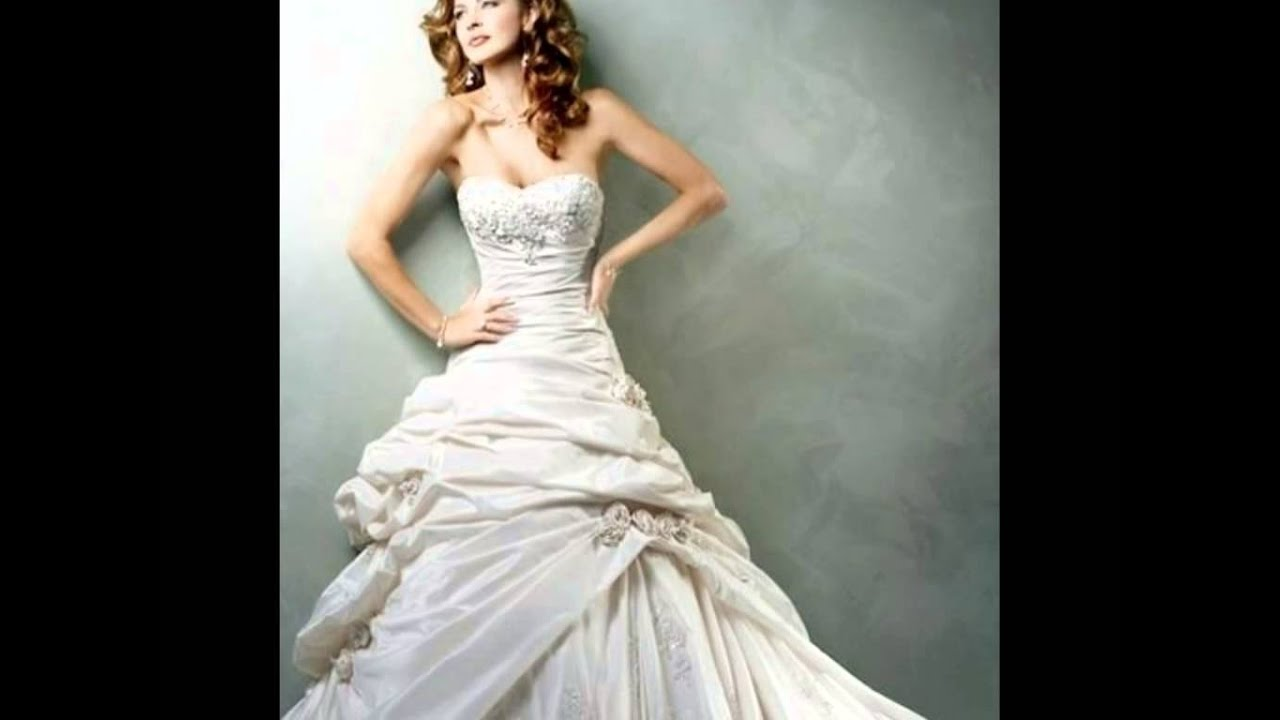 Top 50 Best Wedding Dresses 2014 Collection - Photo Slideshow - YouTube