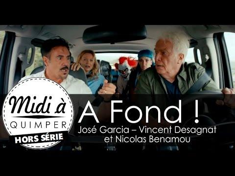 """Interview de José Garcia, Vincent Desagnat, Nicolas Benamou pour le film """"A Fond"""""""