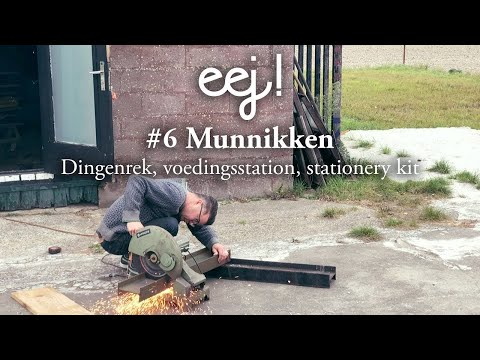eej! magazine // #6 Munnikken: dingenrek, voedingsstation, stationery kit