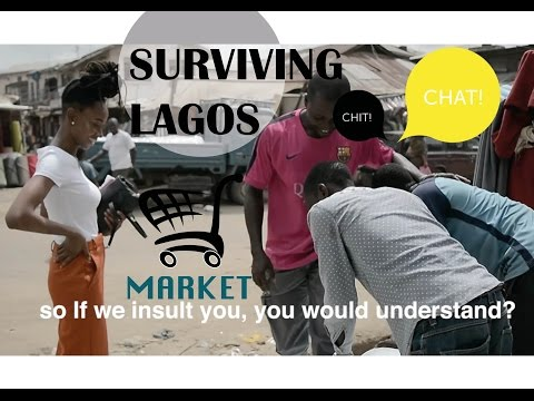 SURVIVING LAGOS | MARKET EDITION | VLOG #16 | DEMI O