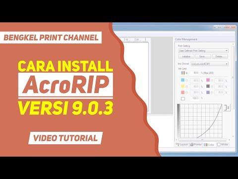 Cara Install AcroRIP Versi 9.0.3 (Full Version)