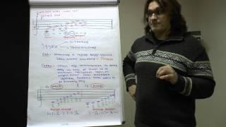 Теория музыки: лад, гамма, нотный стан, тон, полутон, скрипичный ключ