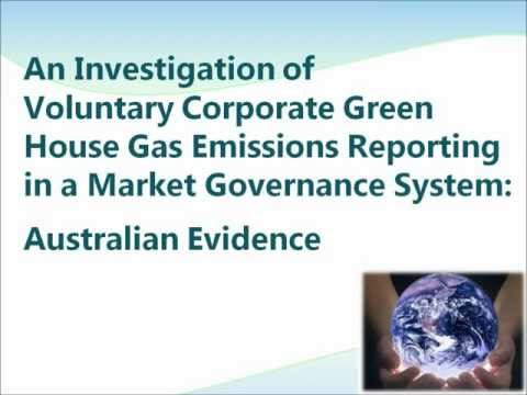 Voluntary GHGs Emissions Reporting: Australian Evidence.wmv