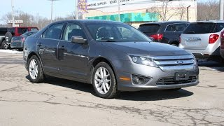 2012 Ford Fusion SEL AWD Review and Test Drive