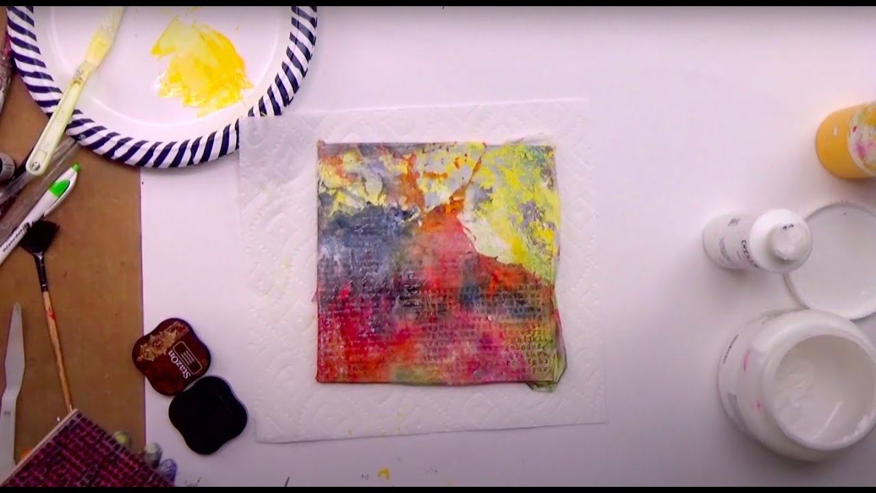 Mixed Media Soul Sparks - Mixed Media Art Lessons
